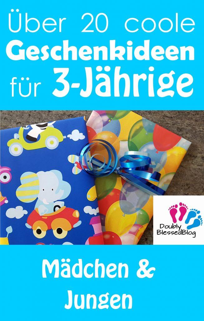 Geschenkideen für 3-jährige Mädchen und Jungen