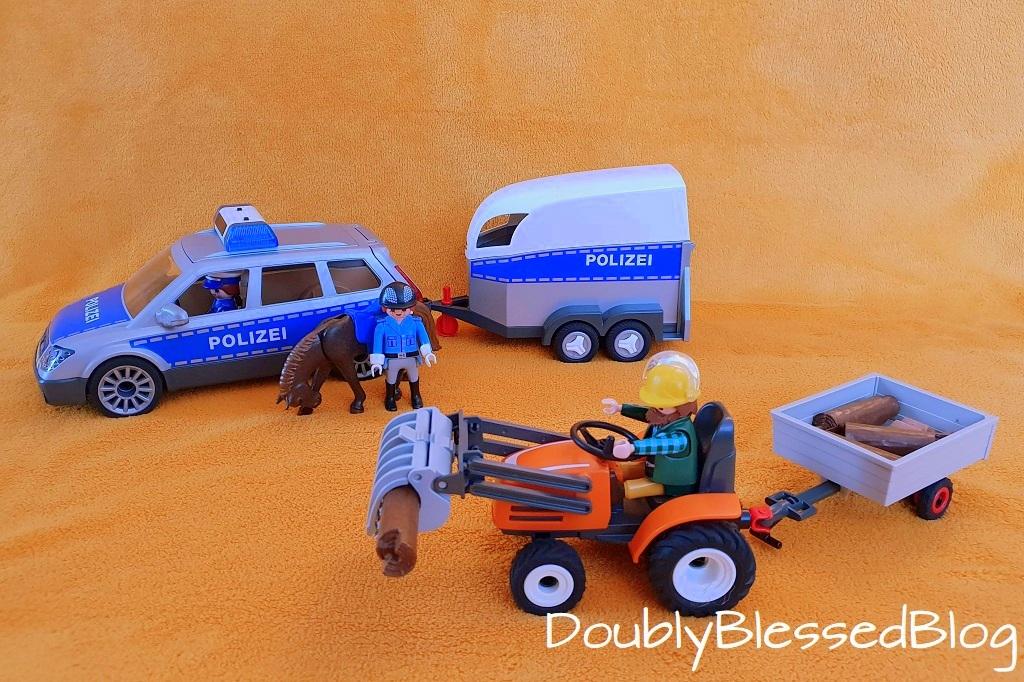 Geschenkidee für 3-jährige Jungen - erste Playmobilsets