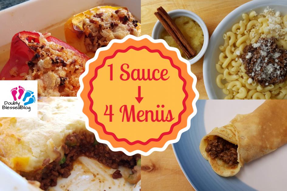 Küchenhack - Eine Sauce, vier Gerichte