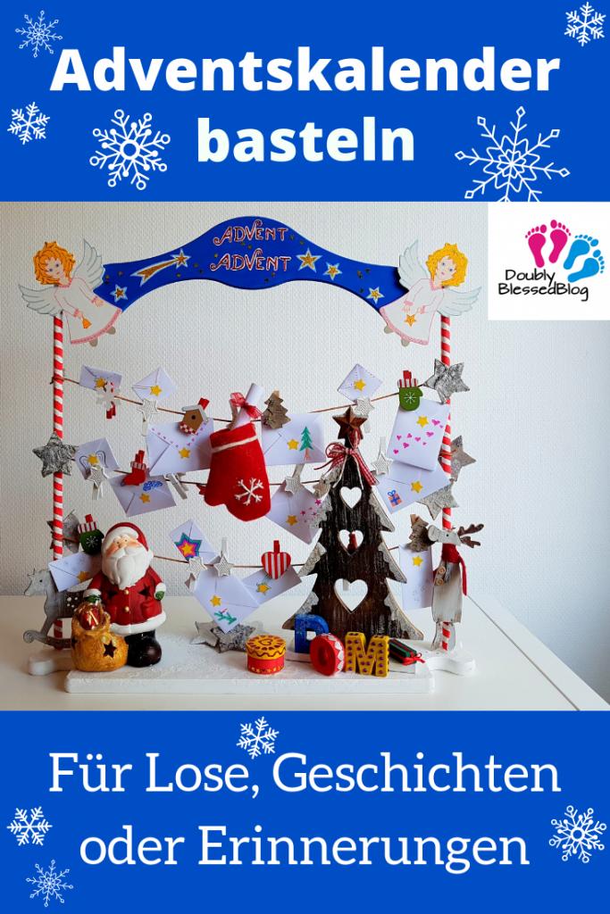 DIY Adventskalender selber zu Weihnachten basteln