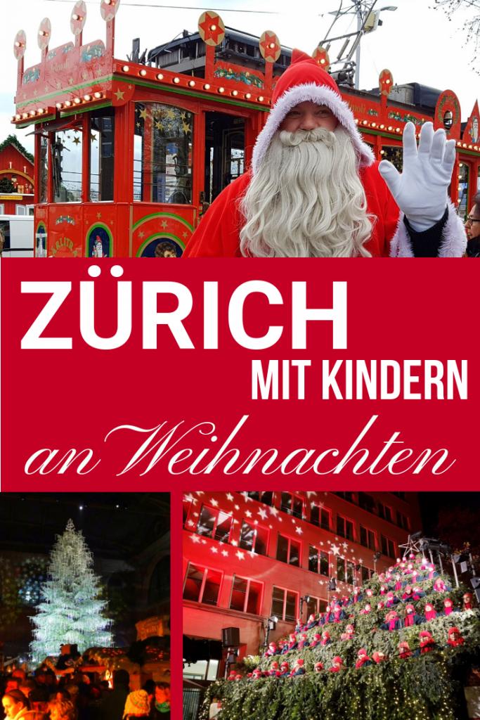 Zürich mit Kindern zu Weihnachten