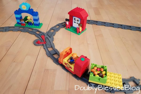 Kinderspiele: Der Smarties-Express