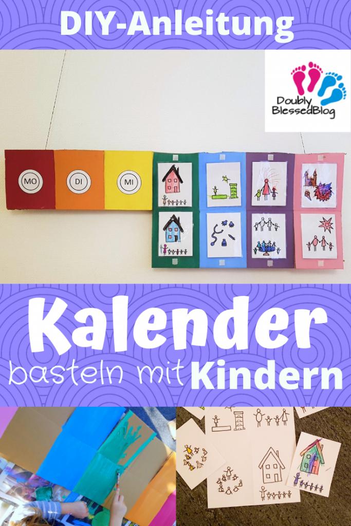 DIY-Anleitung: Kalender für Kinder basteln