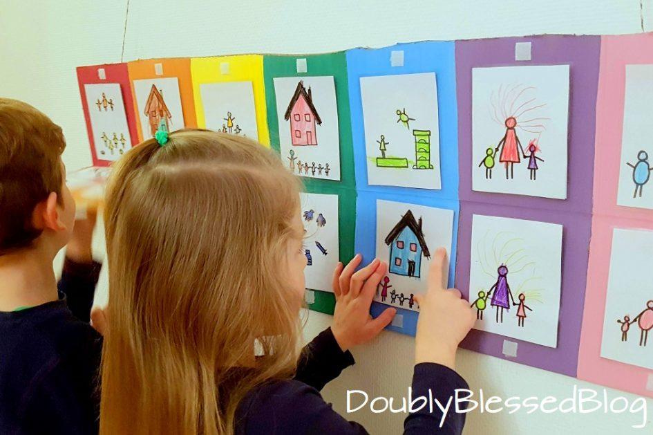 Kalender basteln mit Kindern