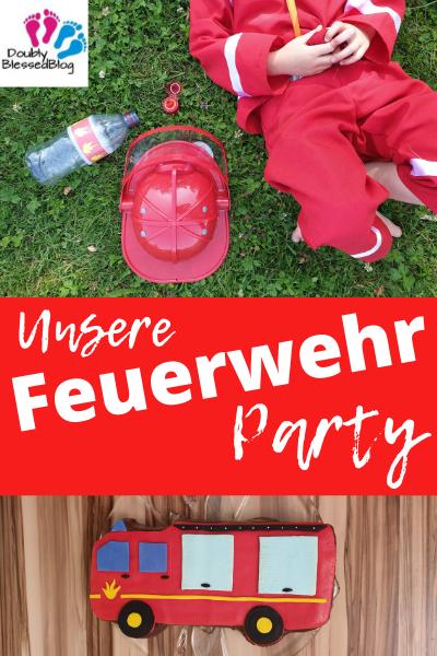 Pinterest Feuerwehr-Geburtstagsparty