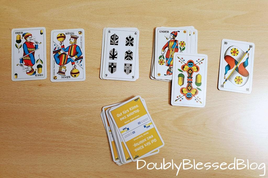 Kartenspiel erlernen mit Kindern - Spiel ohne Namen