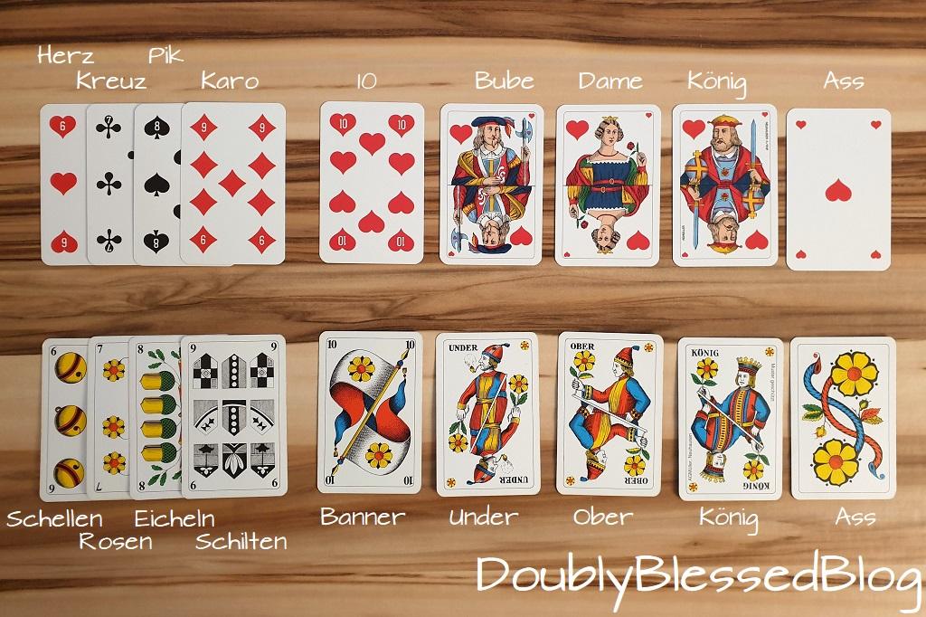 Kinderleicht die deutschen oder französichen Spielkarten kennenlernen / Lernspiele, Kartenspiele