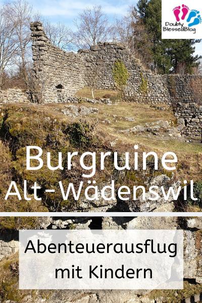 Burgruine Alt-Wädenswil Zürich Schweiz