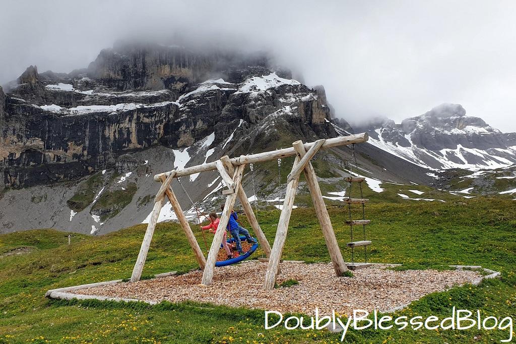 Schuakel hinter der Rugghubelhütte über Engelberg