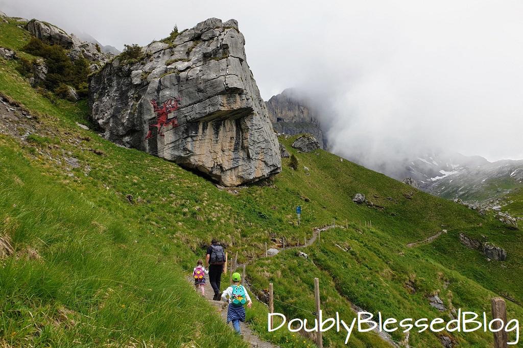 Teufelsfels überhalb Engelberg